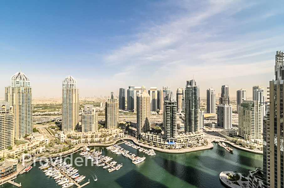 Exclusive|Full Marina View|Rented