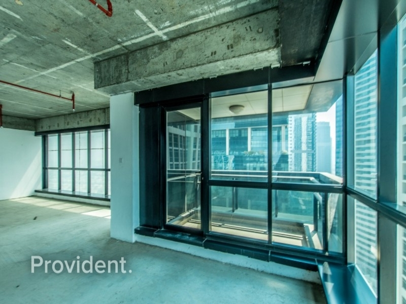 High End Shell and Core Office - High Floor