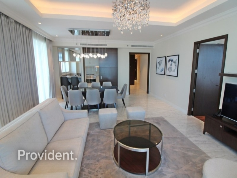 Furnished, Burj and Fountain View, All Inclusive