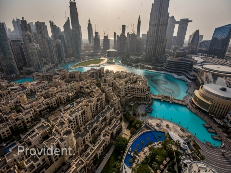 Burj and Fountain View | 03 Series | Furnished