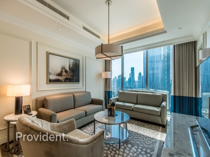 Furnished and Serviced | Full Burj Khalifa View