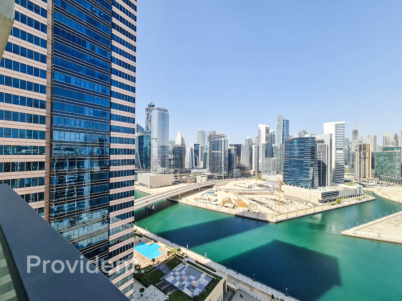 Burj Khalifa and Canal View|With Maids Room