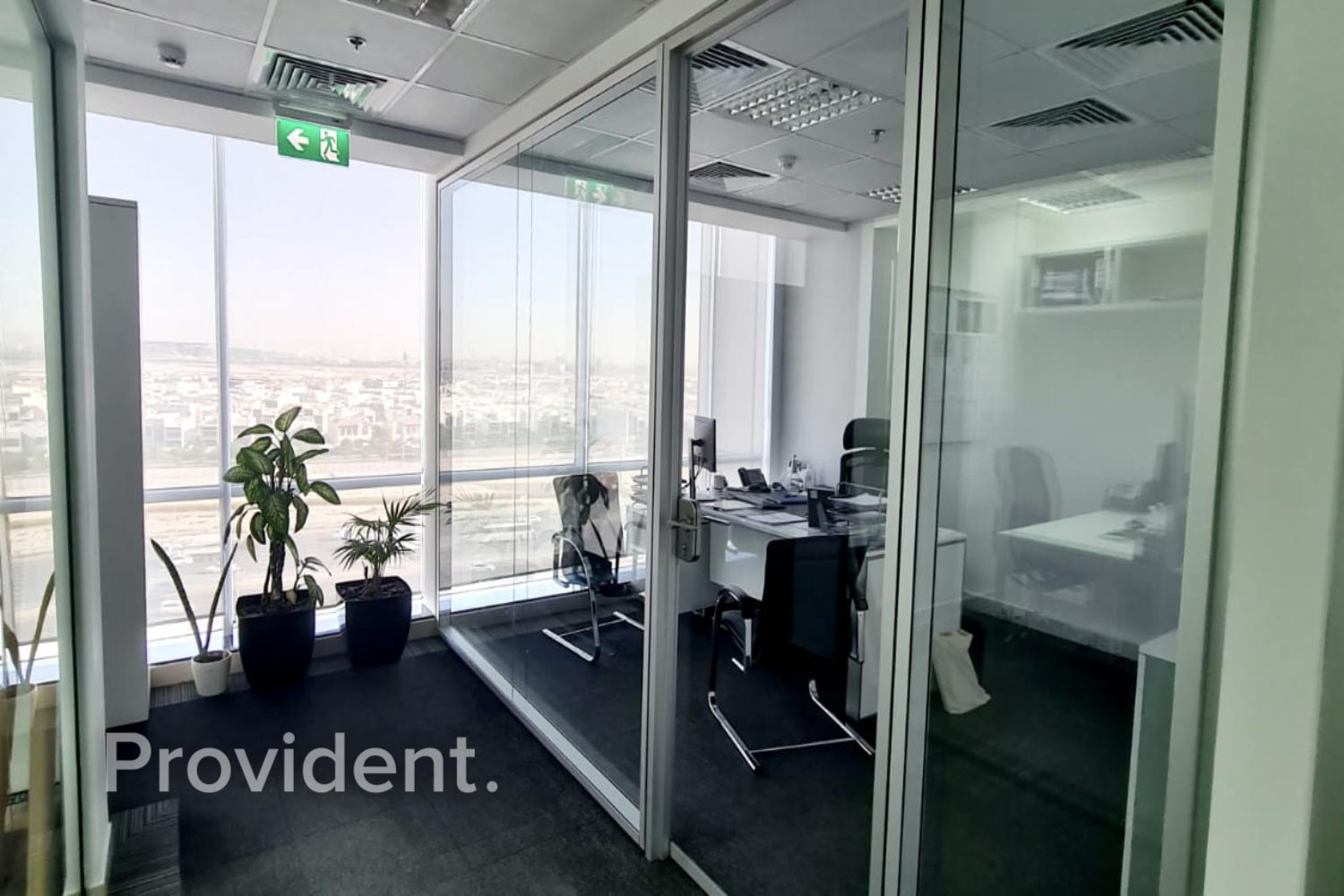 Well Fitted - Beautiful Office - Al Khail View