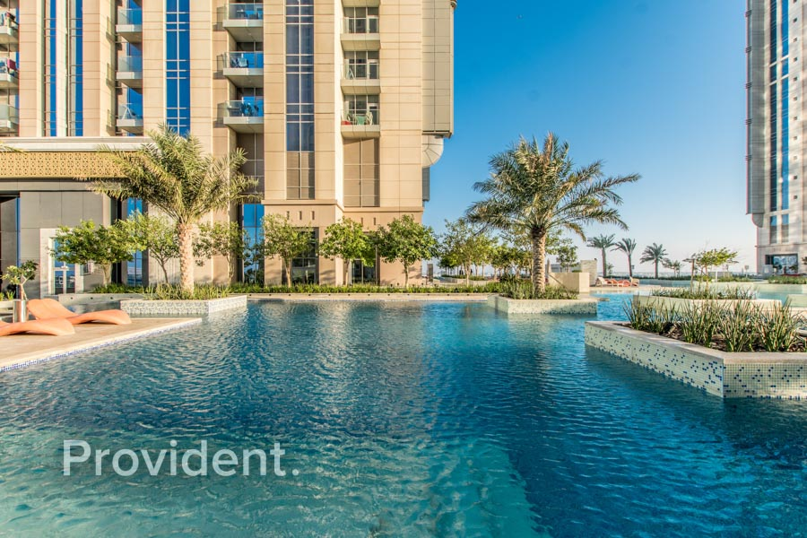 Splendid Burj and Ocean Views | Brand New