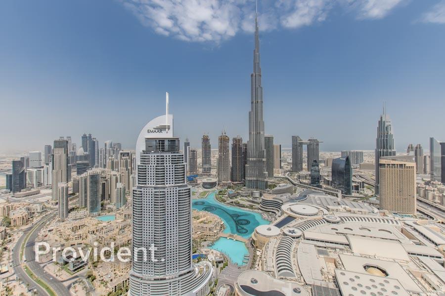 Splendid Burj and Fountain View | Motivated Seller