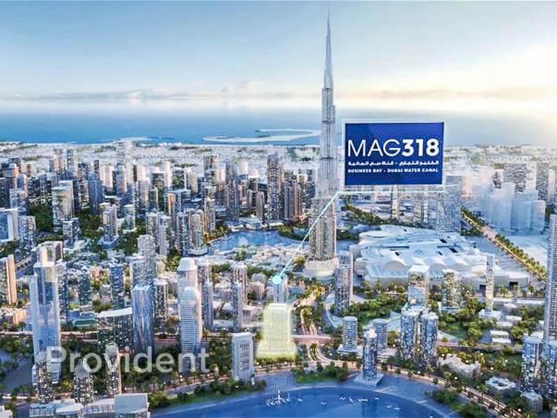 Canal View Studio - Walking Distance to Dubai Mall