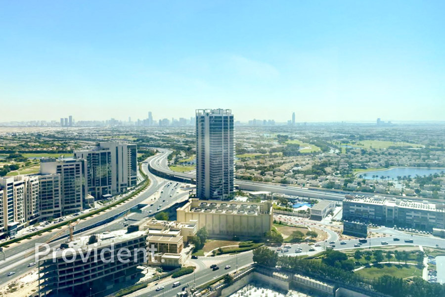 Bright Panoramic View  | High Floor | Rented