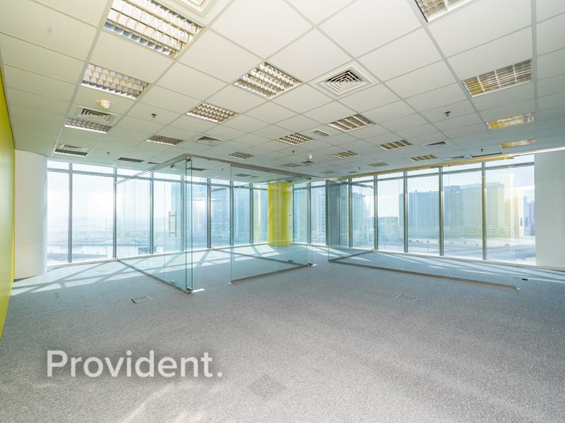 Fitted Office with Partition | Vacant | Canal View