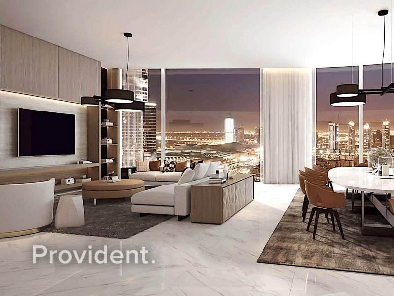 Sophisticated Luxury | Full Burj, Fountain Views