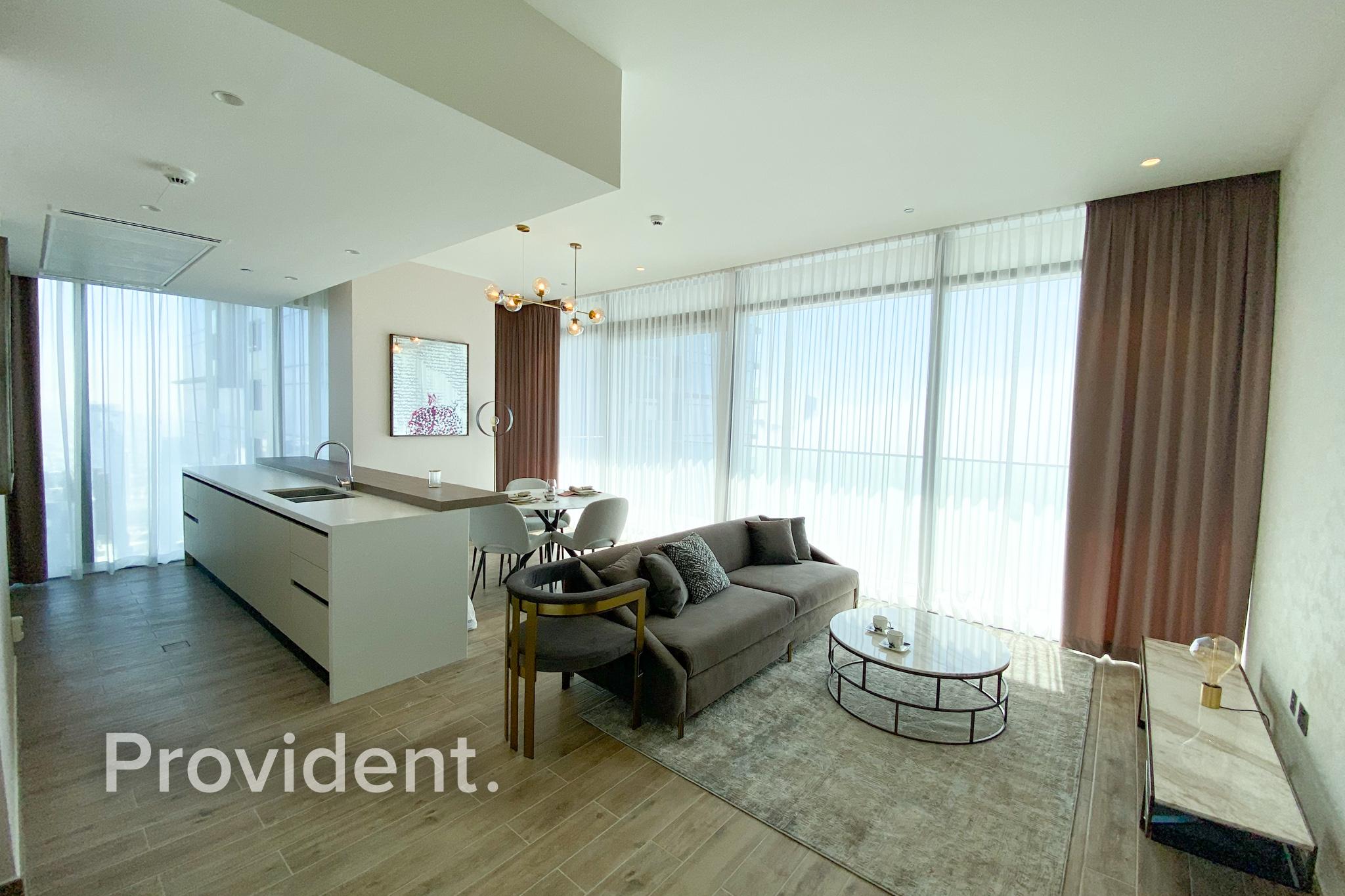 Luxury Furnished | Corner Unit | Full Marina View
