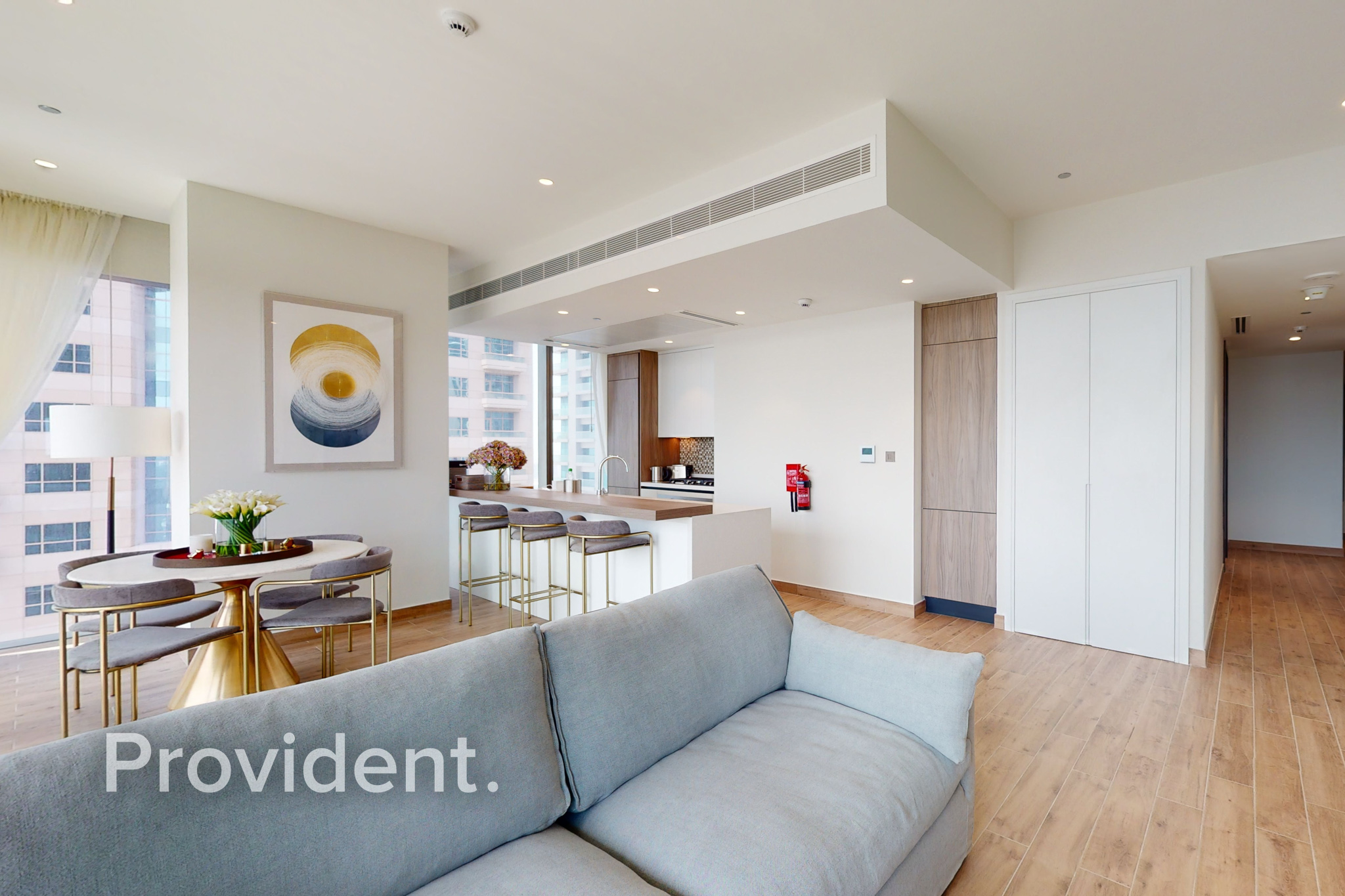 Luxury Furnished   Corner Unit   Full Marina View