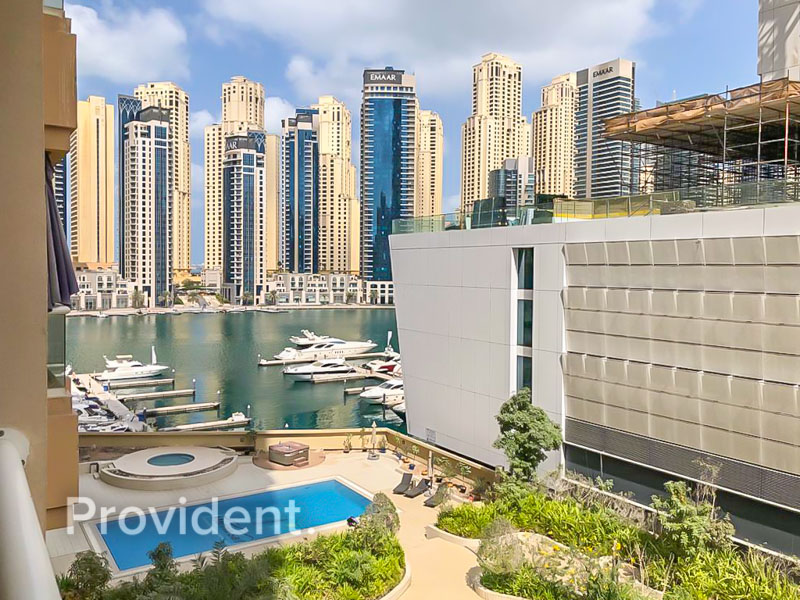 Marina View | Furnished | 2 Balconies | Negotiable