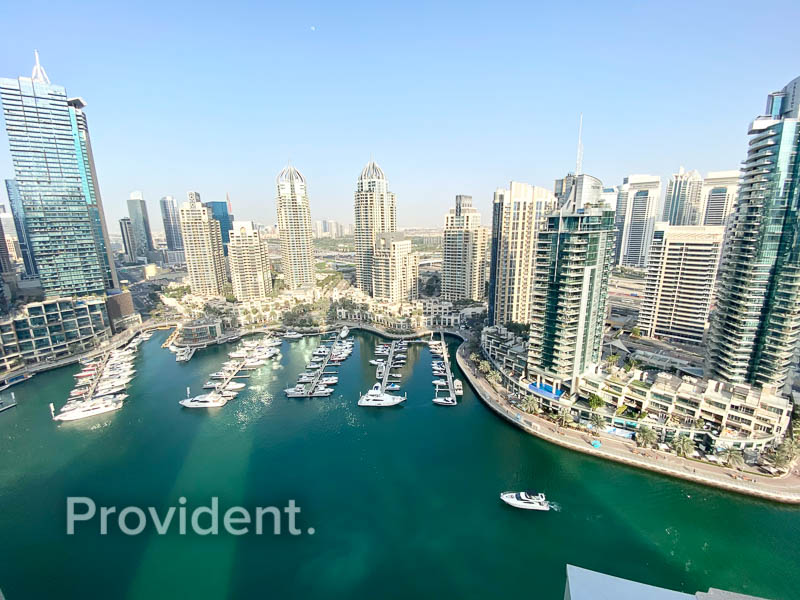 Stunning Rare Full Marina View | Negotiable