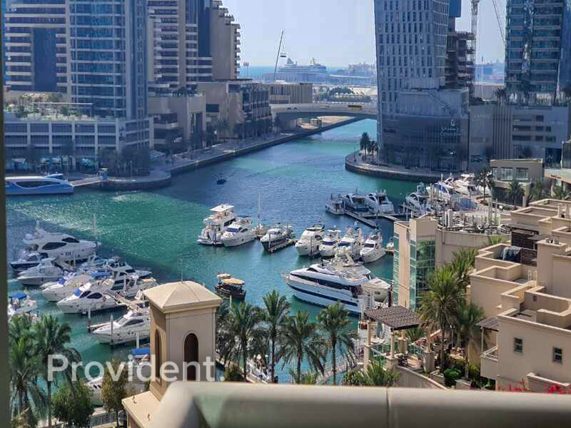 Vacant | Full Marina View | Fully Furnished