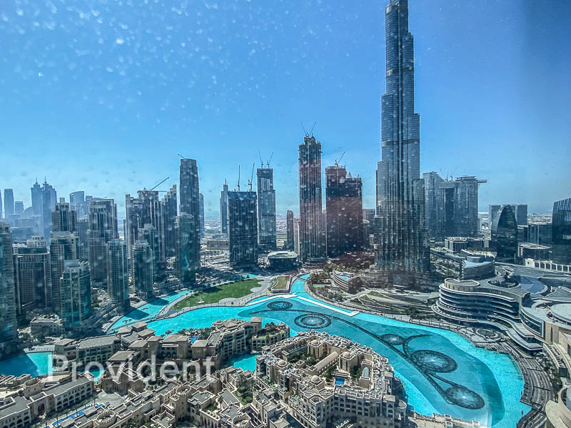 Full Burj Khalifa and Fountain Views | High Floor