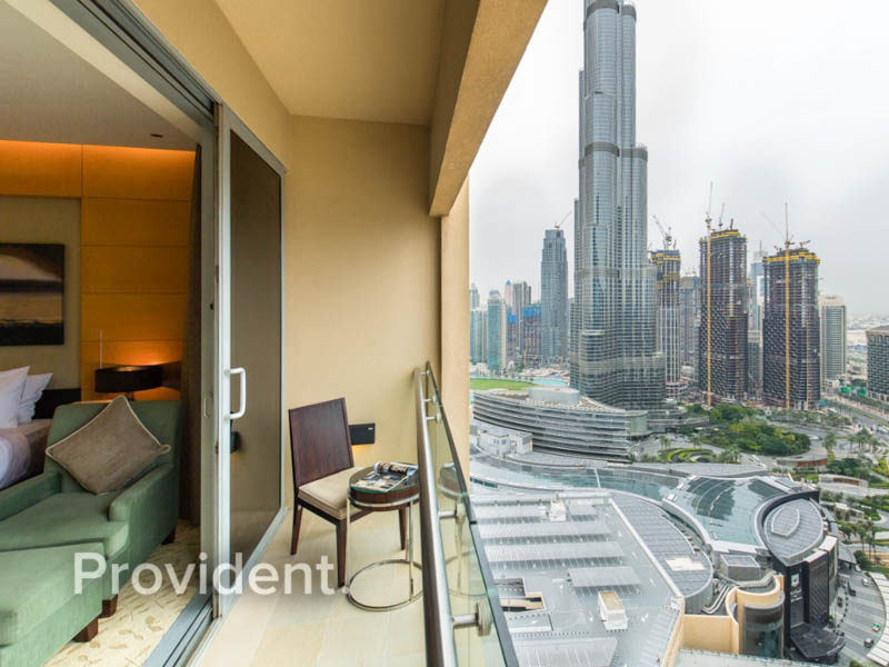 Burj and Ocean View | High Floor