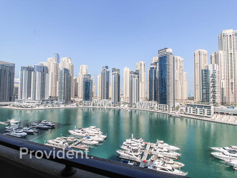 Fully Furnished | Chiller Free | Marina Views