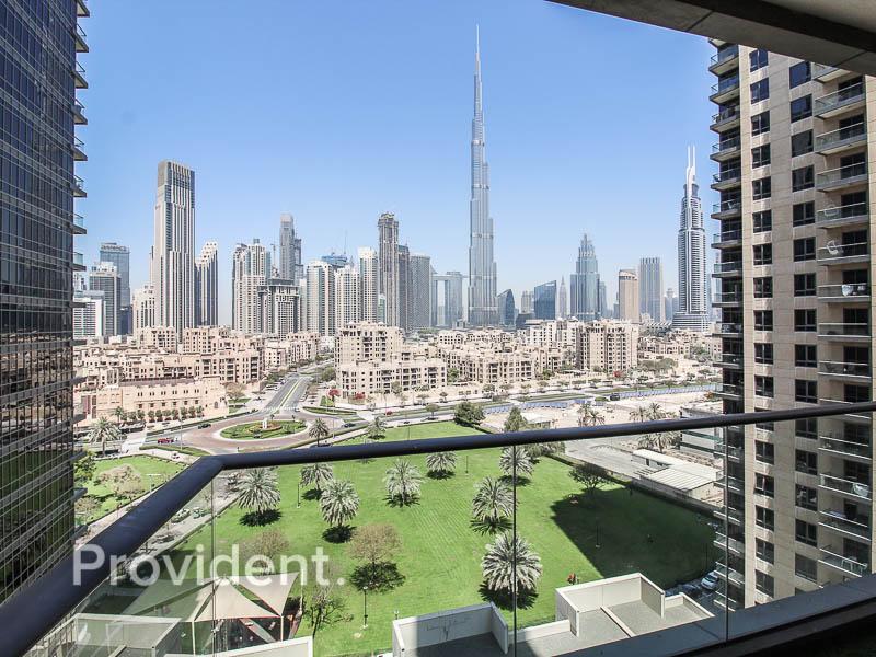 Upgraded | Full Burj Khalifa View | Vacant
