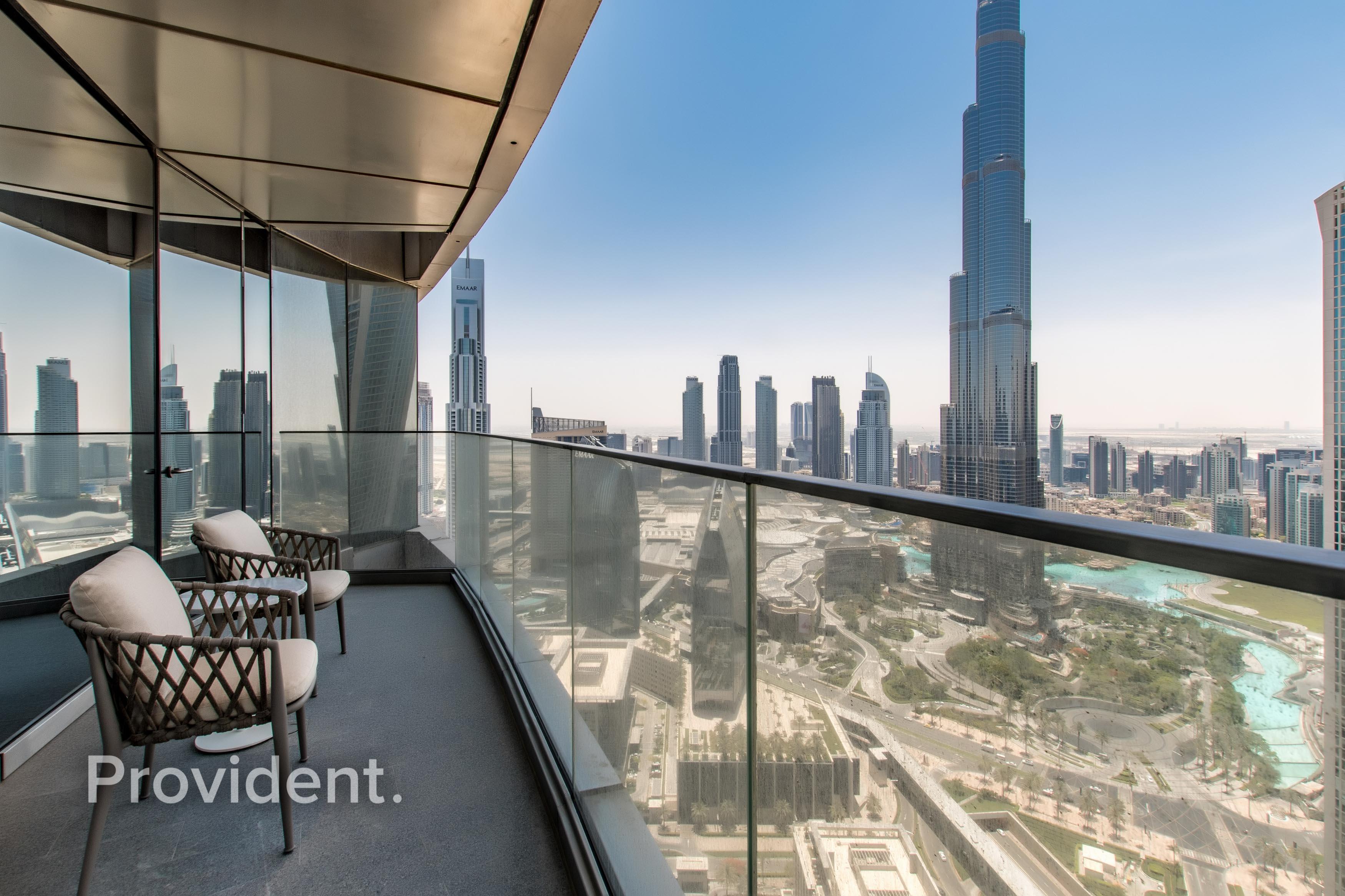 Best Price |  Facing Burj and Ocean | Rented