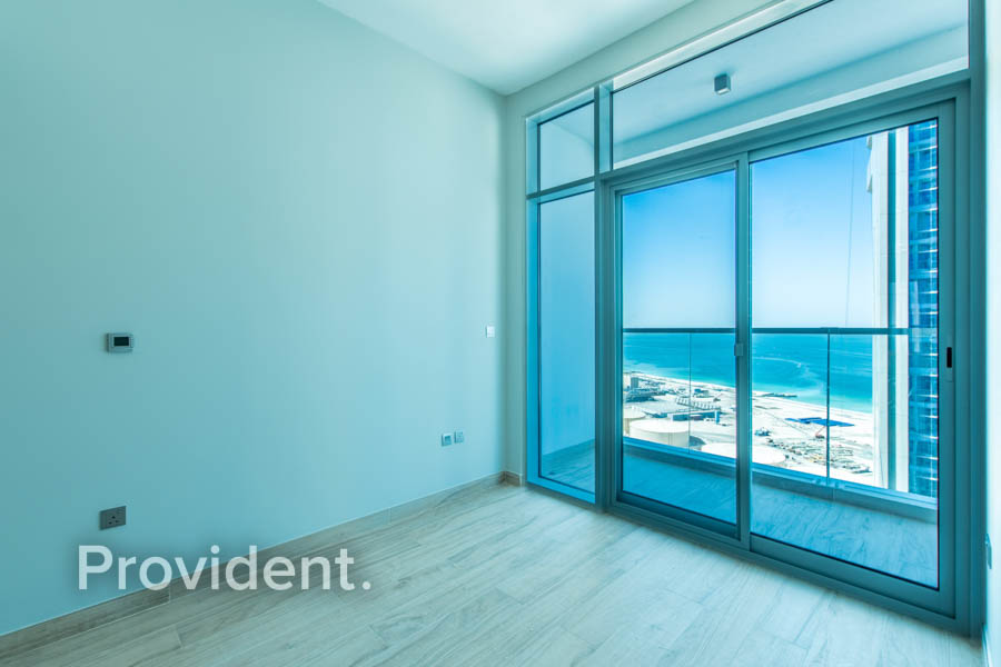 Amazing Sea View | Unfurnished | High Floor