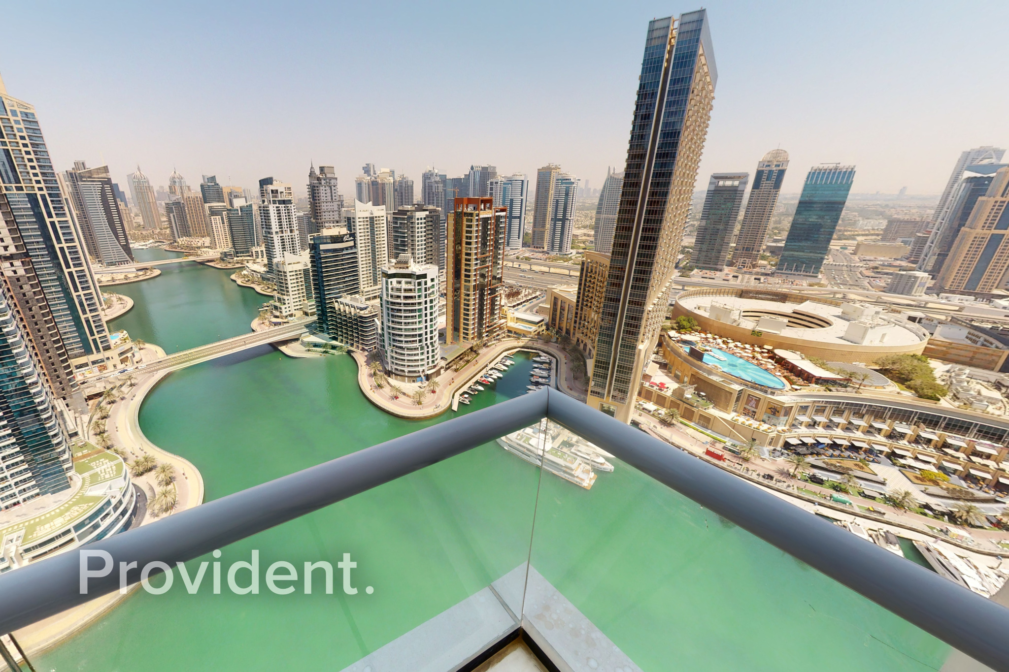 High Floor|Fully Furnished|Panoramic Marina View