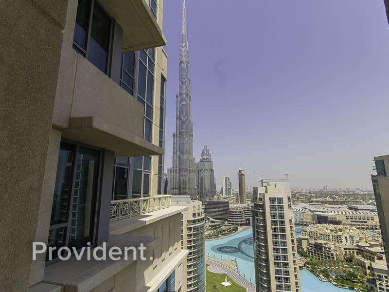 Fully Furnished | Burj Khalifa View | Rented Unit