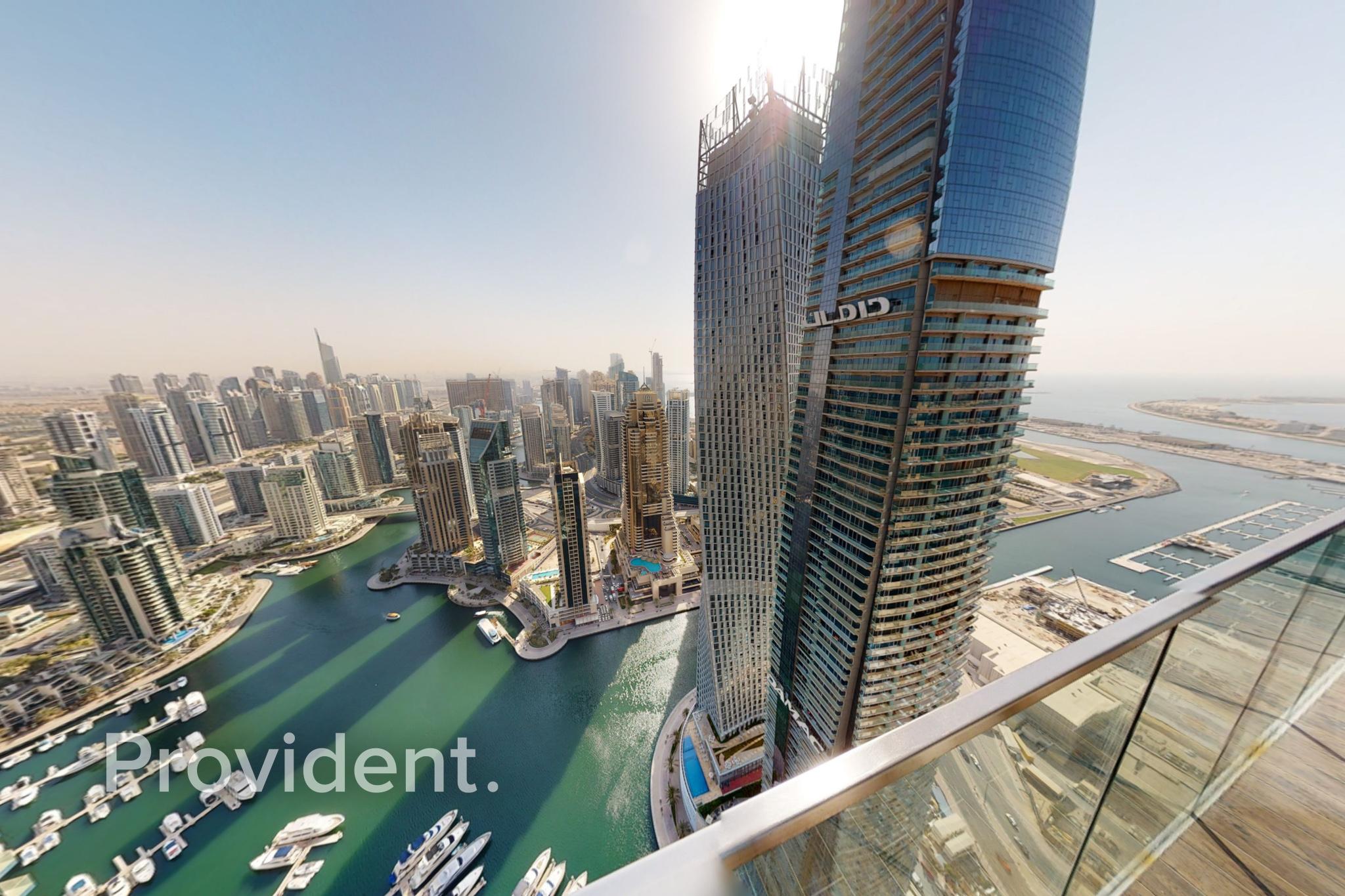 Corner Unit   Panoramic Marina View   High Floor