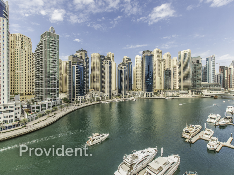 Spacious Apartment | Full Marina View | Maids