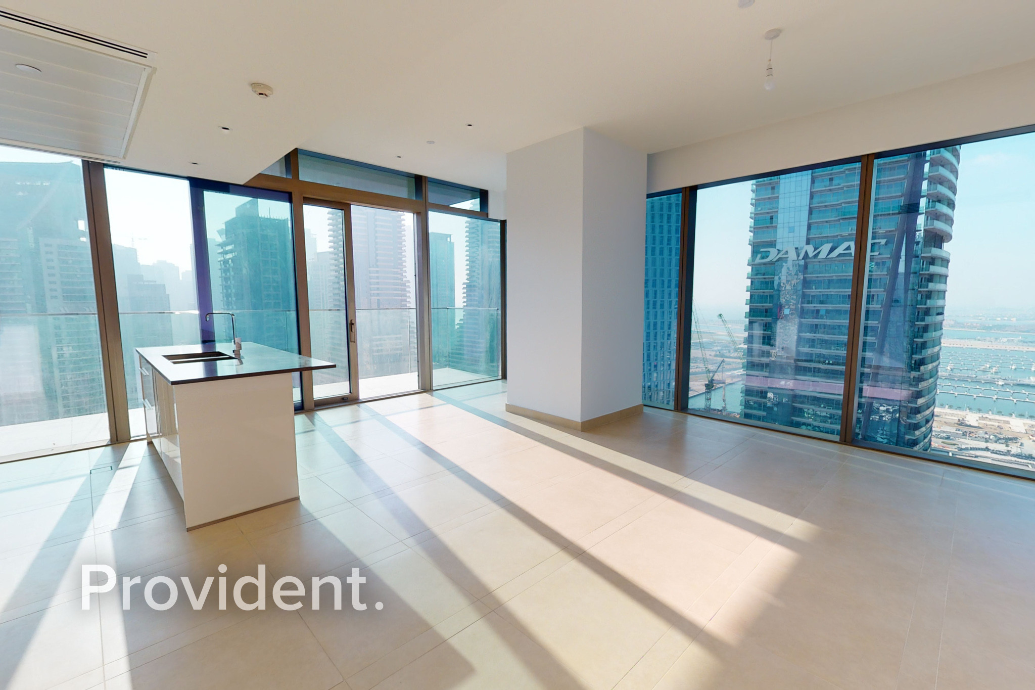 Corner Unit   Full Marina View   Available in July