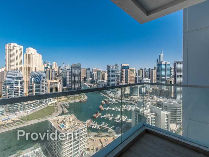 Marina and Sea Views   Large Layout   Vacant