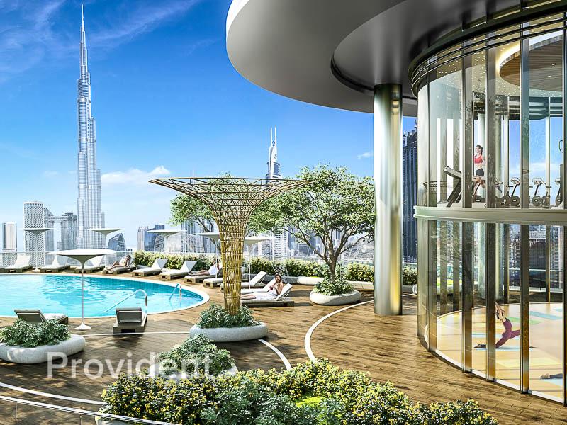 Affordable Luxury | Full Burj View