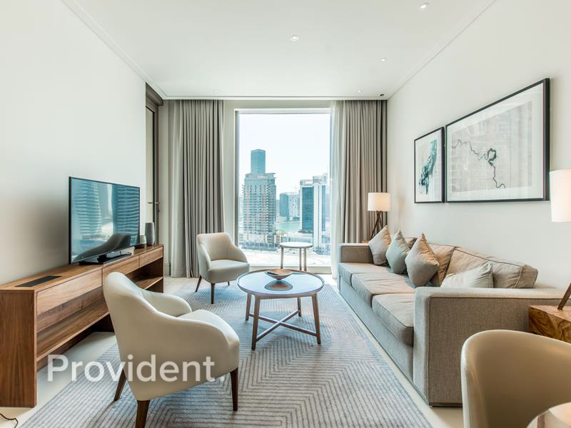 Exclusive|One Bed|High floor|Canal view