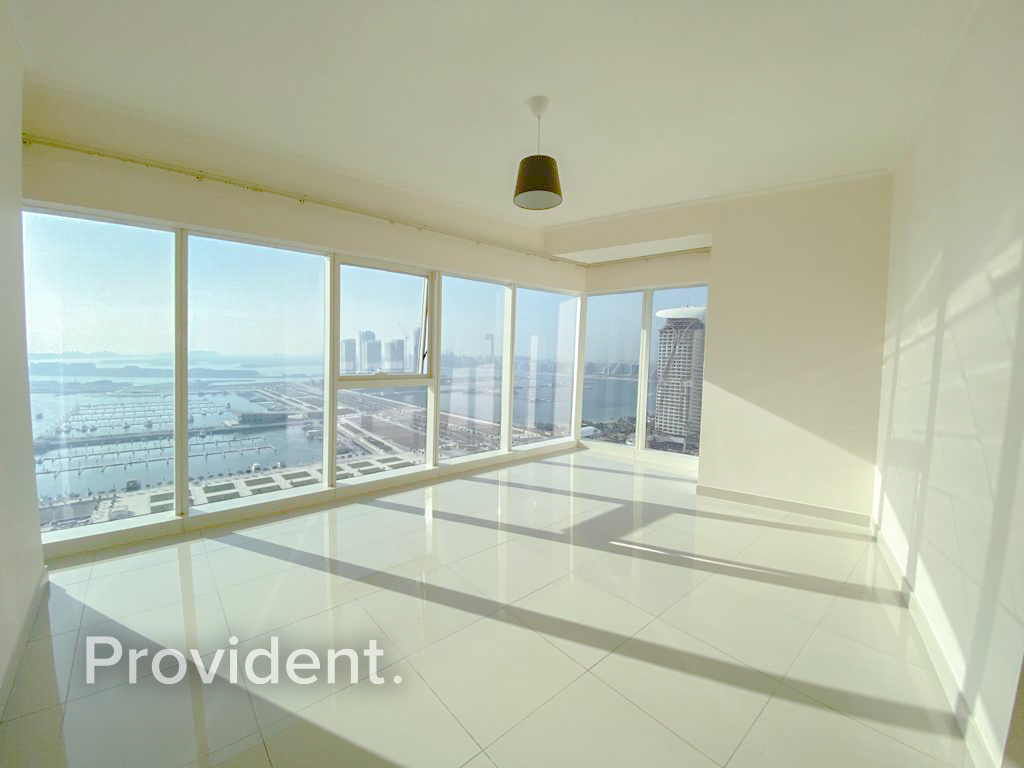 Spacious 2BR Full Sea View Mid Floor Move In Ready