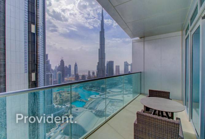 Burj & Fountain View   High Floor   Bright