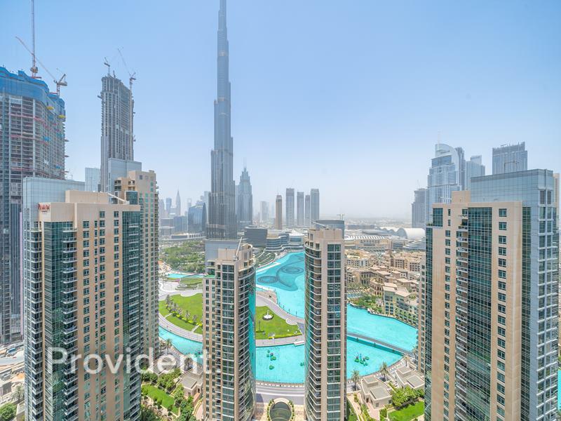 Burj & Fountain View | Vacant | Genuine