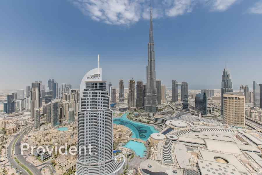 Vacant I Sky Collection | Burj & Fountain View