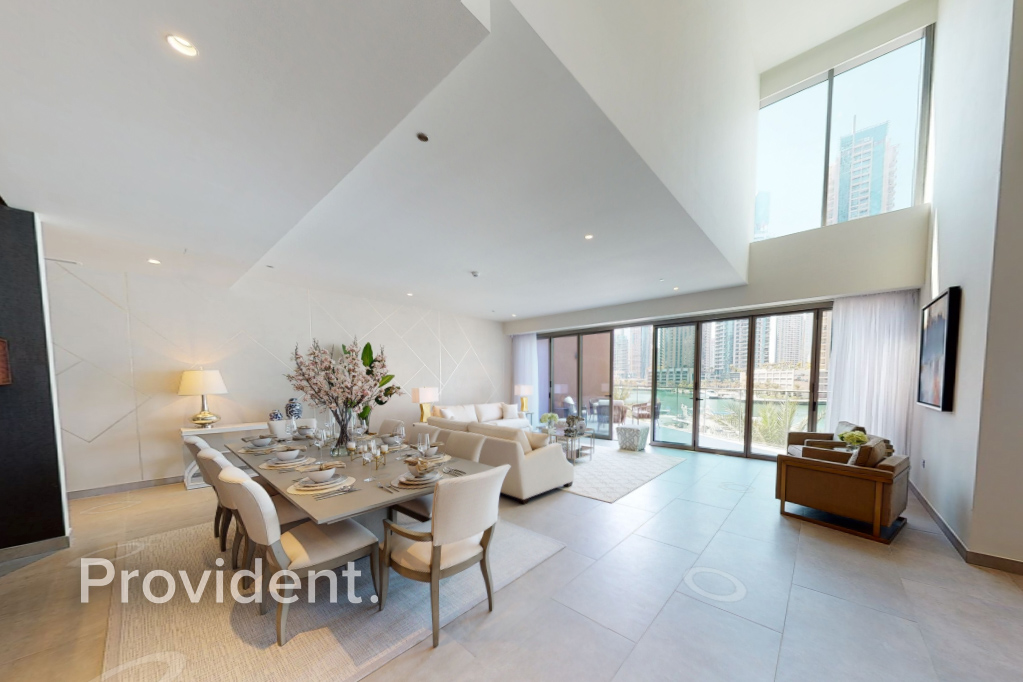 4BR Duplex Villa Luxury Furnished Full Marina View