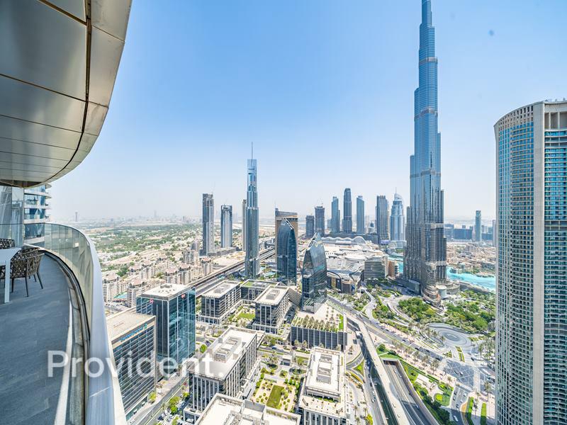 Furnished, Vacant, Burj Khalifa View