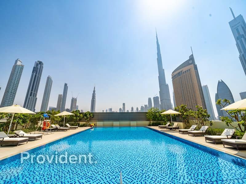 High Floor | Burj Khalifa View | Connected to Mall