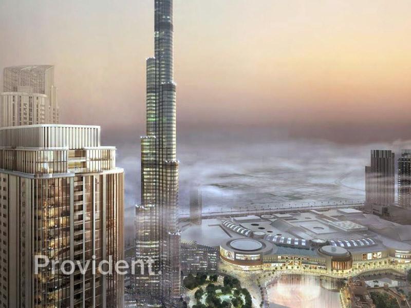 Burj & Fountain Views|12% Booking|Payment Plan