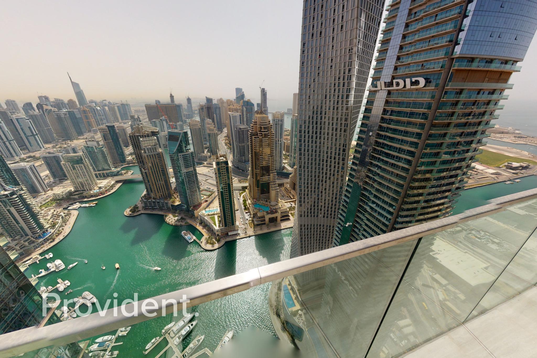 Luxury Penthouse|Full Marina View|4 Parking Bays