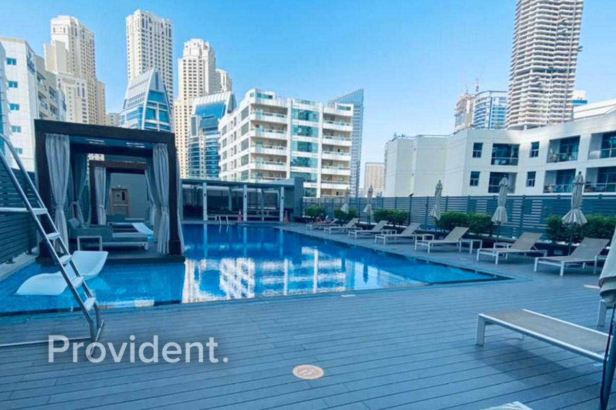Amazing Studio | Sea View | High Floor| For Rent