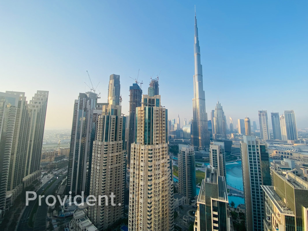 Fully furnished with Alluring Burj Khalifa View