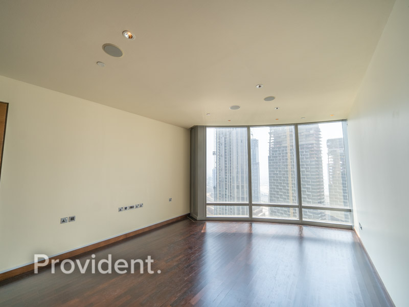 Full fountain View | Unfurnished 2BR | High Floor