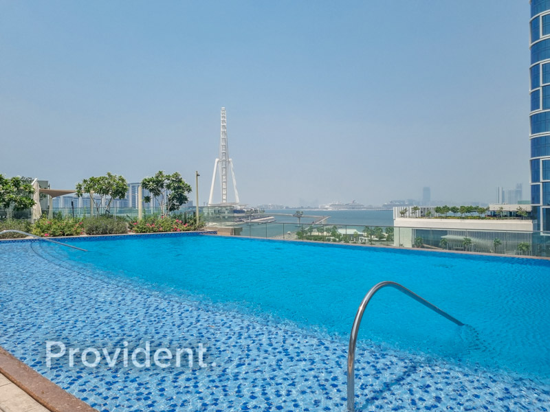 Amazing 2Bed/ Full Marina View/ Beach access