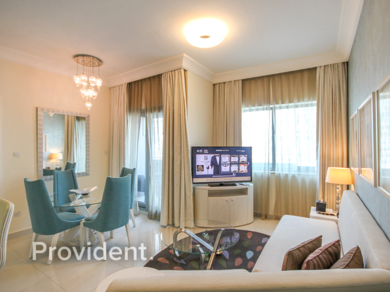 Attractive | Furnished One BR |  6% NET ROI