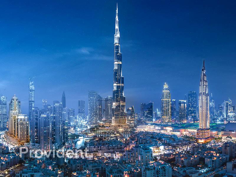 Fabulous Burj Khalifa View   Easy Payment Plan