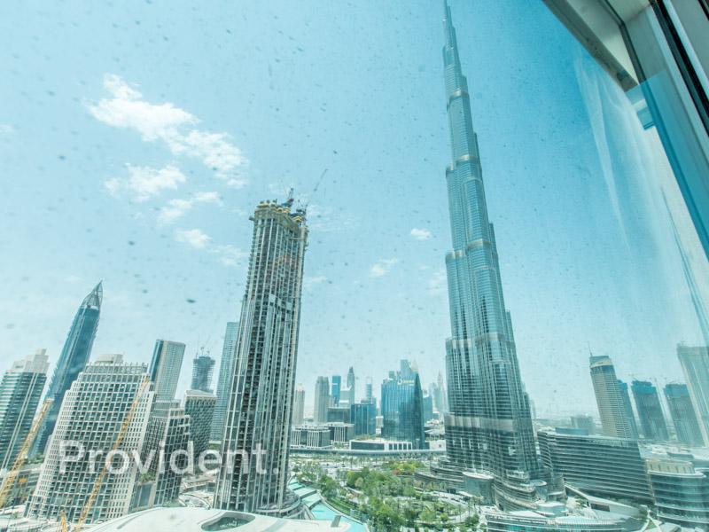 Burj Khalifa & Fountain View   Furnished
