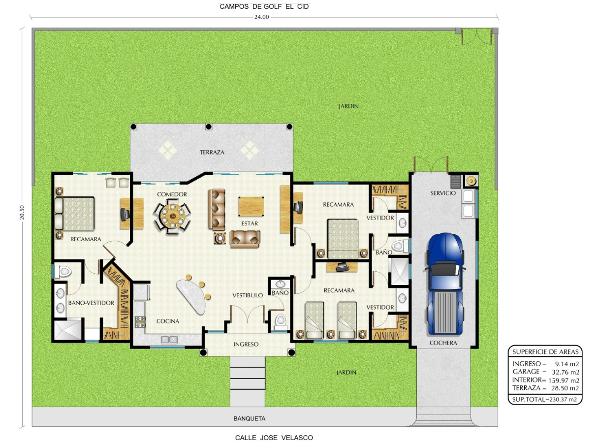 Golf Villas 1 story Floor plan.jpg