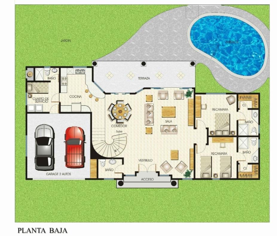 Golf Villas 2 story planta baja.jpg